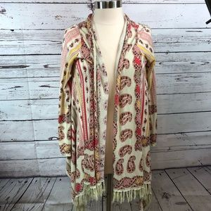 Anthropologie Guinevere Open Front SweaterCardigan